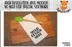 Kitchen Towel Mock Up Mockup Product Image 1