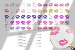 Pink lip print elements Product Image 2