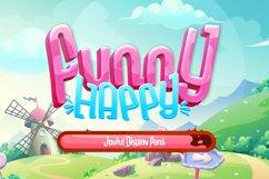 Funny-Happy Joyful Display Font Product Image 1
