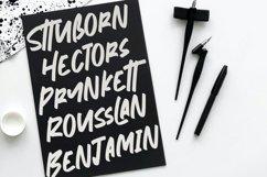 Nymburgh Brush Minimal Display Typeface Product Image 5