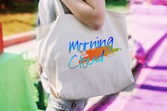 Morning Cloud Font Product Image 4