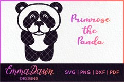 PRIMROSE THE PANDA SVG MANDALA / ZENTANGLE 3 DESIGNS Product Image 4