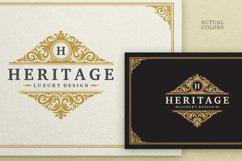 Vintage Ornament Logo Template Product Image 2