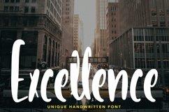 Web Font Excellence - Unique Handwritten Font Product Image 1