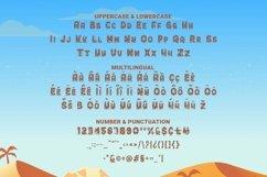 Web Font Sahara Font Product Image 2