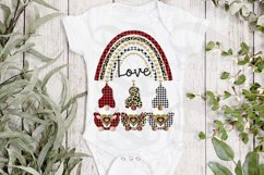 Gnomes Valentine Sublimation png Valentine Love Rainbow png Product Image 4