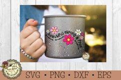 Flower SVG Bundle-Inspirational Words-Spring Flowers Bundle Product Image 3