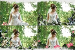 Summer overlays templates frames textures backdrop wedding Product Image 7