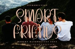 Smart Friends - A Beauty Handwritten Font Product Image 1