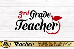 Teacher SVG PNG EPS DXF Teacher Quote SVG Teacher Life SVG Product Image 3