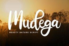 Mudega   Beauty Nature Script Font Product Image 1
