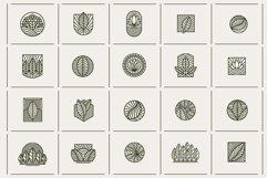 Line Leaf Logo Design / Leaf Svg / Plant Svg Product Image 3