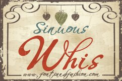 Whispers Calligraphy Sinuous Product Image 2