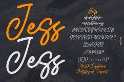 Jess   Signature Script Font Product Image 6
