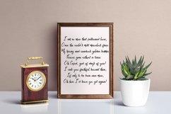 Web Font Malifisenta Product Image 3