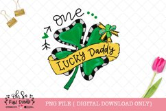 One lucky mommy, daddy, baby, St Patricks sublimation bundle Product Image 3