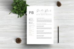 Minimalist Resume Template Product Image 1