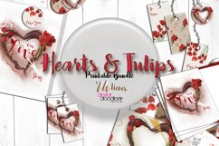 Hand Painted Hearts & Tulips Bundle Product Image 1