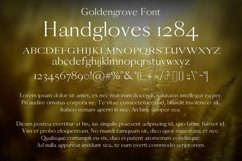 Goldengrove Font Product Image 2