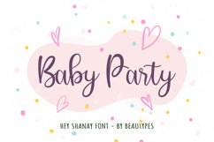 Hey Shanay | Lovely Handwritten Font Product Image 2