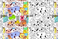 Animals patterns EPS, PNG, JPEG. Product Image 2