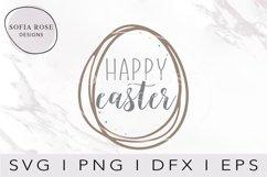 Easter SVG, Easter Egg SVG, Hand Drawn Easter Egg Svg Product Image 1
