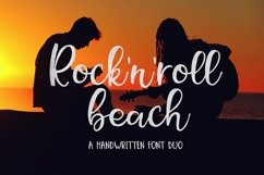 Web Font Rock N Roll Beach Font Duo Product Image 1