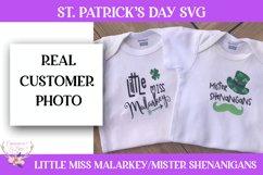 St. Patrick's Day SVG - Little Miss Malarkey Product Image 2