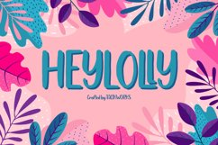 Heylolly Crafty Font Product Image 1