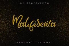 Web Font Malifisenta Product Image 1