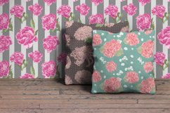 Vector Flowers Seamless Pattern Set Product Image 6