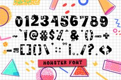 Cutie Monster - Monster Font Product Image 3