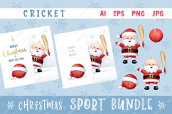 Merry Christmas and Happy New Year. Cricket. Product Image 1