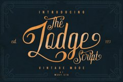 The Lodge Script 30% OFF Product Image 1