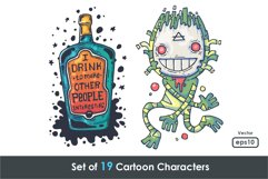 19 Different Cartoon Characters Product Image 6