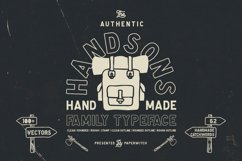Handsons Typeface Product Image 1