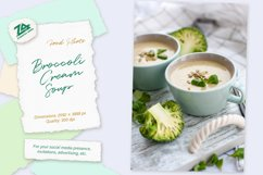 """Food photo """"Broccoli CreamSoup"""" - tasty and helpful lunch Product Image 1"""