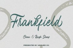 Frankfield Font Product Image 1