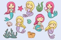 Mermaid Illustrations Product Image 2