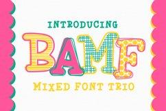 BAMF - A Crazy Font! Product Image 1