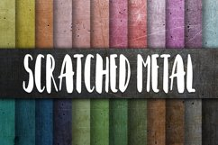 Scratched Metal Textures Digital Paper Product Image 1