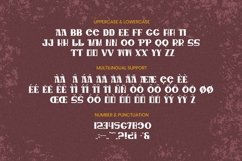 MARSUS Font Product Image 5