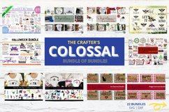 The Crafters Colossal Bundle of 22 SVG Bundles Product Image 1