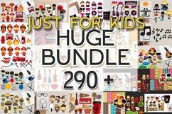 Kids clip art - Graphics and Illustrations Huge Bundle Product Image 1