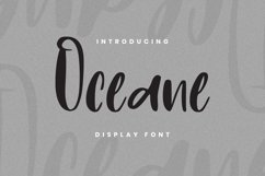 Oceane Font Product Image 1