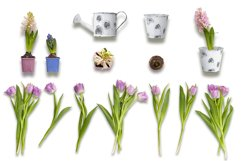 Spring & Easter Scene Creator - Top View - PNG, JPG Product Image 3