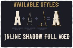 Original Absinthe Layered Font Product Image 4