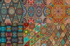 Tile mosaic seamless patterns set Product Image 3