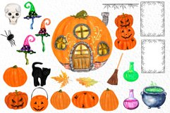 Gnomes clipart Thanksgiving clipart Halloween Kids clipart Product Image 6