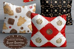Sweet Seamless Patterns. Watercolor illustrations in Realism Product Image 5